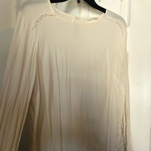 Ivory/ off white Blouse